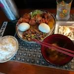 ふく、 - 料理写真:ランチ500円