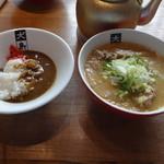 大島 - 味噌ラーメンとミニカレー