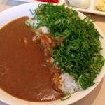 カフェ ミズカ - 特製ネギカレー(セット980円)