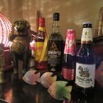 タイ国料理店 ラカン - タイ産のウィスキー・泡盛・スパークリングワイン・ビール等