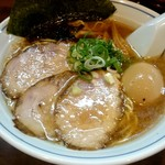 むらさき山 - 『紫(ゆかり)そば』¥950-