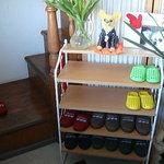 チーカフェ - 靴を抜いて2Fがお店です