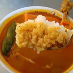チーカフェ - ご飯をスープに・・・