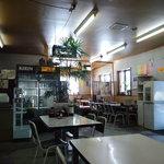 こずえ食堂 - いかにも食堂という雰囲気。