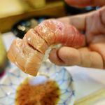 都鮨 - 料理写真:トロ