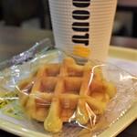 ドトールコーヒーショップ - 料理写真:ベルギーワッフル