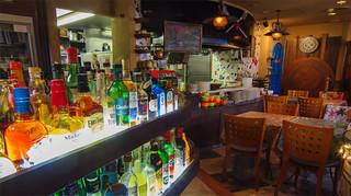 トラットリーア・ケイ・イタリアーノ - オシャレでセンスあふれる店内