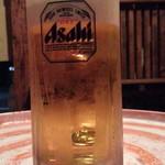 ふわっと - 生ビール390円オンザドラム缶