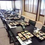 寿司正 - 2階ローテーブル席、最大65名様まで