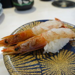 にこにこ寿司 - 赤海老