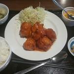 美味亭 - スタミナチキン定食