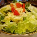 コートロッジ - ランチのサラダ。