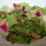 68581329 - 新鮮野菜のサラダ、特製ごまドレッシング