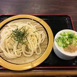 狸屋 - ざるうどん500円