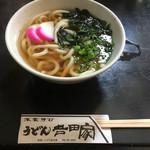 吉田家 - 料理写真:かやくうどん430円