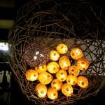 福よし - ホヤの電飾アート