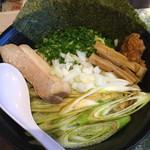 天海 - 料理写真:油そば並(油多め、ニンニクあり)