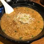 鶴也 - 肉味噌ラーメン