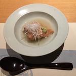 銀座 圓 - 江戸前煮穴子と冬瓜のくず煮