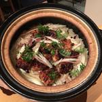 銀座 圓 - 焼き鱧の炊き込みご飯