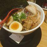 麺屋 燕 - DX燕ラーメンしょうゆ1200円