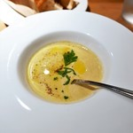 ダリアロッソ - スープ