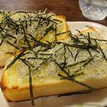 鎌倉キネマ堂 - しらすトースト