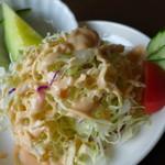 洋食ワタナベ - サラダそのものはやや凡庸かな?