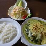 洋食ワタナベ - ランチ・ポークフィオレンティーノ(980円)