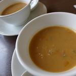 洋食ワタナベ - 今日のランチスープ
