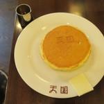 珈琲 天国 - ホットケーキ1