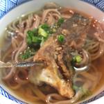 鮎茶屋 かわせ - ビワマスのカマ蕎麦