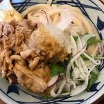 丸亀製麺 - 豚しゃぶぶっかけ 620円