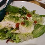 恵比寿餃子 大豊記 - ネギ鶏の薬膳サラダ仕立て
