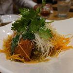 恵比寿餃子 大豊記 - 油淋鶏