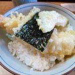 山の音 - 小天丼(480円)