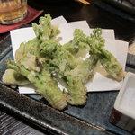 魚山亭 - タラの芽 天ぷら