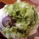 団五郎茶屋 - 赤福氷