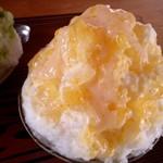 団五郎茶屋 - 練乳甘夏氷