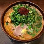 68592013 - エスニックパクチー味噌ラーメン