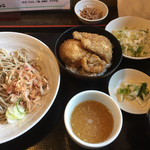 そば処裕心 - 料理写真:ミニカツ丼セット(2017.06)