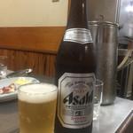 将軍 - 瓶ビール520円