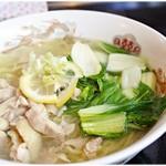 GOBAN - 鶏塩ラーメン 850円 すっきりさっぱり鶏塩味♪