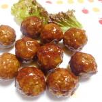 肉のコバヤシ - 料理写真:肉だんご10個¥320-