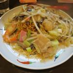 伊万里ちゃんぽん  - 皿うどん(細麺)