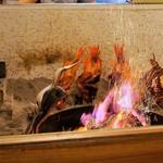 福よし - 囲炉裏