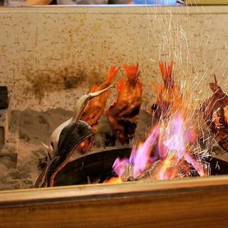 福よし - 料理写真:囲炉裏