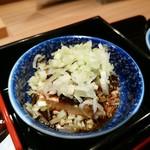 神楽坂 料理 やま本 - ピータン豆腐