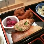 神楽坂 料理 やま本 - 春巻き 肉の香味揚げ