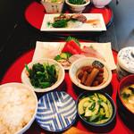 海のぼん - 刺身定食 ¥1,800